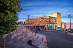 历史的康纳旅馆在热罗姆,亚利桑那 图库摄影