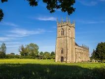 历史的战场教会在舒兹伯利,英国 免版税库存照片