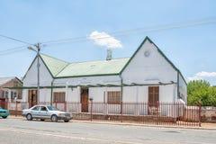 历史的房子在Fauresmith 图库摄影