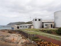 历史的捕鲸驻地博物馆,阿尔巴尼,西澳州 免版税库存图片