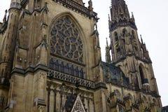 历史的教会在林茨奥地利 免版税库存照片