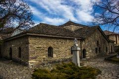 历史的教会在Batak 库存照片