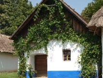 历史的村庄建筑 免版税图库摄影