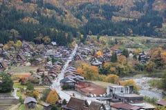 历史的村庄 库存照片