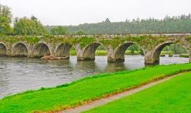 历史的桥梁在爱尔兰 免版税图库摄影