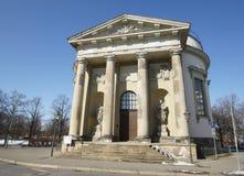 法国教会,波茨坦,德国 库存图片