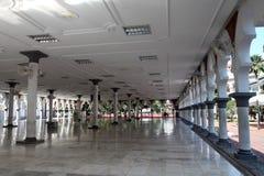 历史的清真寺, Masjid Jamek在吉隆坡,马来西亚 库存照片
