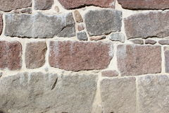 历史的石墙 库存图片