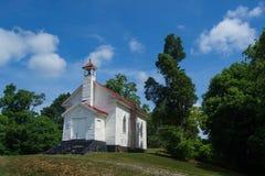 历史的石渣小山教会 库存图片