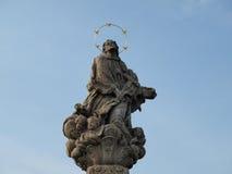 历史的石雕塑 免版税库存图片