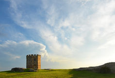 历史的砂岩塔,悉尼,澳大利亚 免版税库存照片