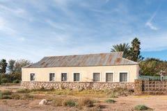 历史的老大厦在Keimoes 免版税库存照片