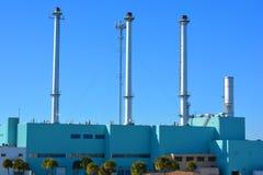 历史的能源厂 库存图片