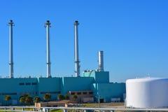 历史的能源厂 免版税库存图片