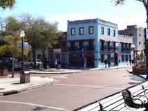 历史的街市威明顿,北卡罗来纳 图库摄影