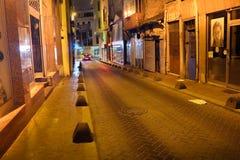 历史的街道Kasimpasa伊斯坦布尔 免版税图库摄影