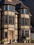历史的议院在舒兹伯利,英国 免版税库存图片