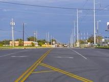 历史的路线66在土尔沙俄克拉何马-土尔沙-俄克拉何马- 2017年10月17日 免版税库存照片