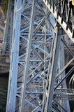 历史的铁桥梁 免版税图库摄影