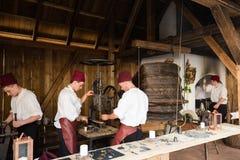 历史的铜匠车间 免版税库存照片
