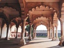 历史的阿格拉堡在阿格拉,印度 免版税库存图片