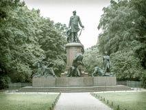 历史的雕象在一个公园在柏林 免版税图库摄影