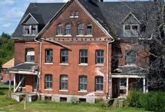 历史的韦恩堡底特律MI 免版税库存图片