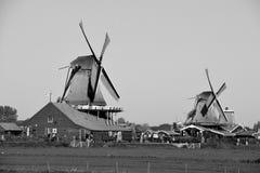 历史的风车 库存图片