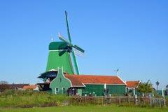 历史的风车 免版税库存图片