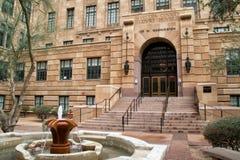 历史的马里科帕县法院大楼在菲尼斯亚利桑那 库存照片
