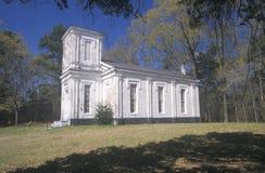 历史的1826圣地深深长老会在MS南部 免版税图库摄影