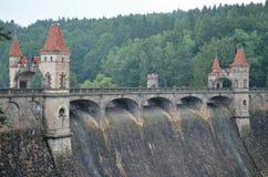 历史的水坝les kralovstvi 免版税库存图片