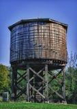 历史的水塔在Kinmundy,伊利诺伊 免版税库存图片