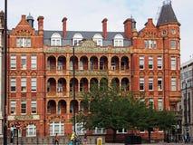 历史的维多利亚女王时代的医院,伦敦 免版税库存照片