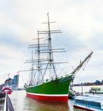 历史的水手Rickmer Rickmers 免版税库存照片