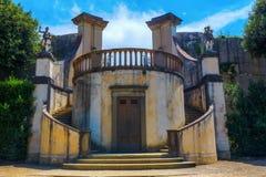 历史的结构在Boboli庭院里在佛罗伦萨,意大利 免版税库存图片