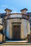 历史的结构在Boboli庭院里在佛罗伦萨,意大利 图库摄影