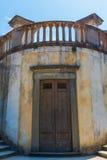 历史的结构在Boboli庭院里在佛罗伦萨,意大利 库存图片