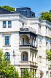 历史的建筑学在威斯巴登 库存图片