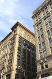 历史的建筑学在纽约 库存图片