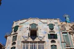 历史的建筑学在马略卡 免版税库存图片