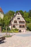 历史的Akzisers Hus在Michelbach 免版税图库摄影