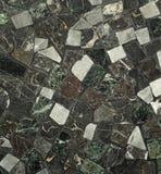 历史的darked口气多彩多姿的拼花地板关闭了  免版税库存图片