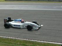 历史的F1 Tyrrel 022蒙扎2012年 图库摄影