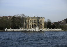 历史的Goksu宫殿,伊斯坦布尔 免版税图库摄影