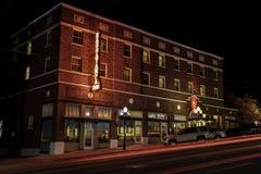 历史的Hassayampa旅馆 库存图片