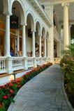 历史的Moana Surfrider旅馆,檀香山 库存图片