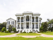 历史的Nottoway种植园议院在路易斯安那 免版税库存图片