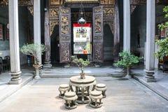 历史的Pinang Peranakan豪宅 图库摄影