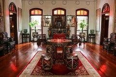 历史的Pinang Peranakan豪宅 库存照片